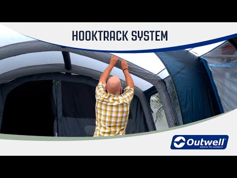 Outwell HookTrack System (New feature 2020)  | Innovative Family Camping