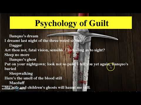 Themes Of Macbeth: Psychology Of Guilt