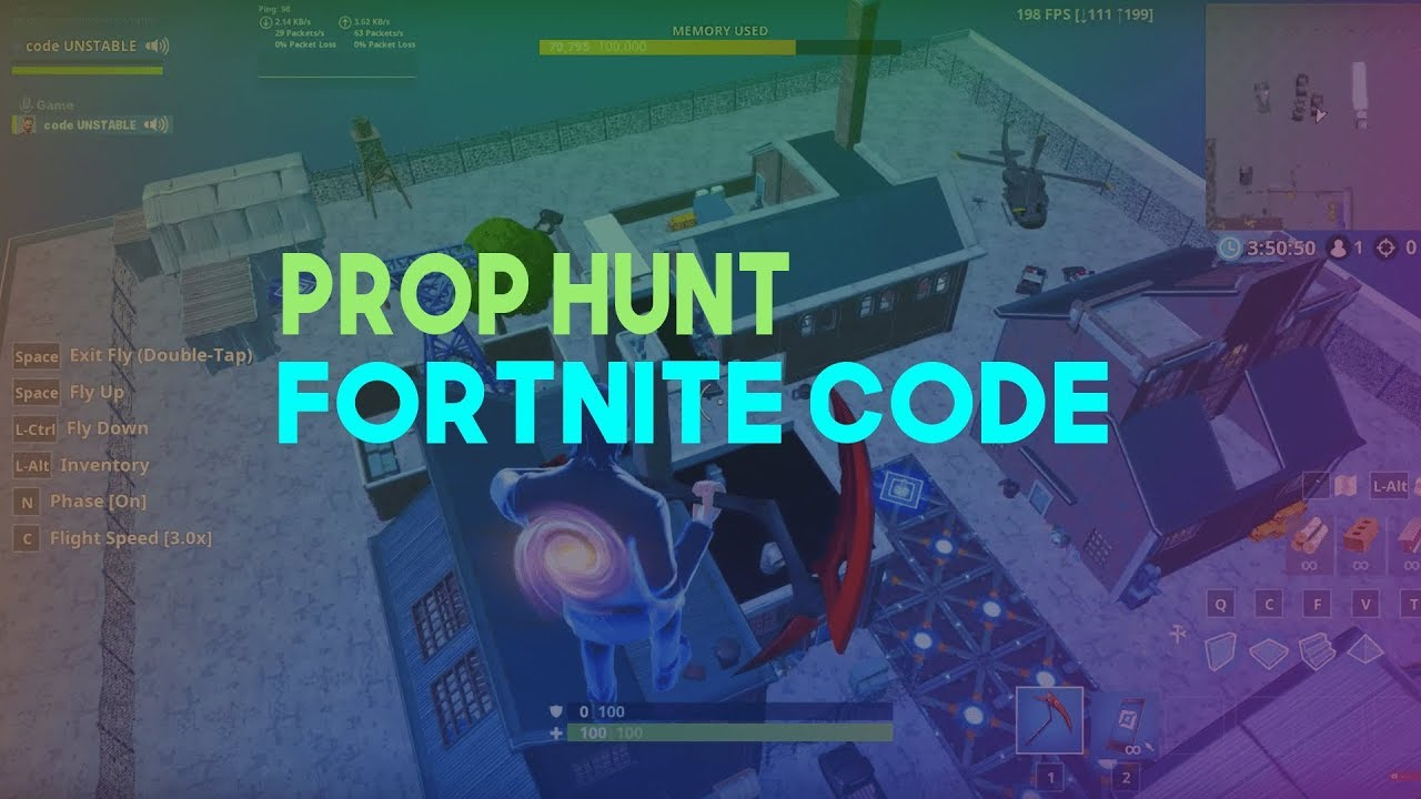 NEW Prop Hunt Map code in Fortnite | Factory theme | prop hunt maps  fortnite | 2634-0851-5585 |