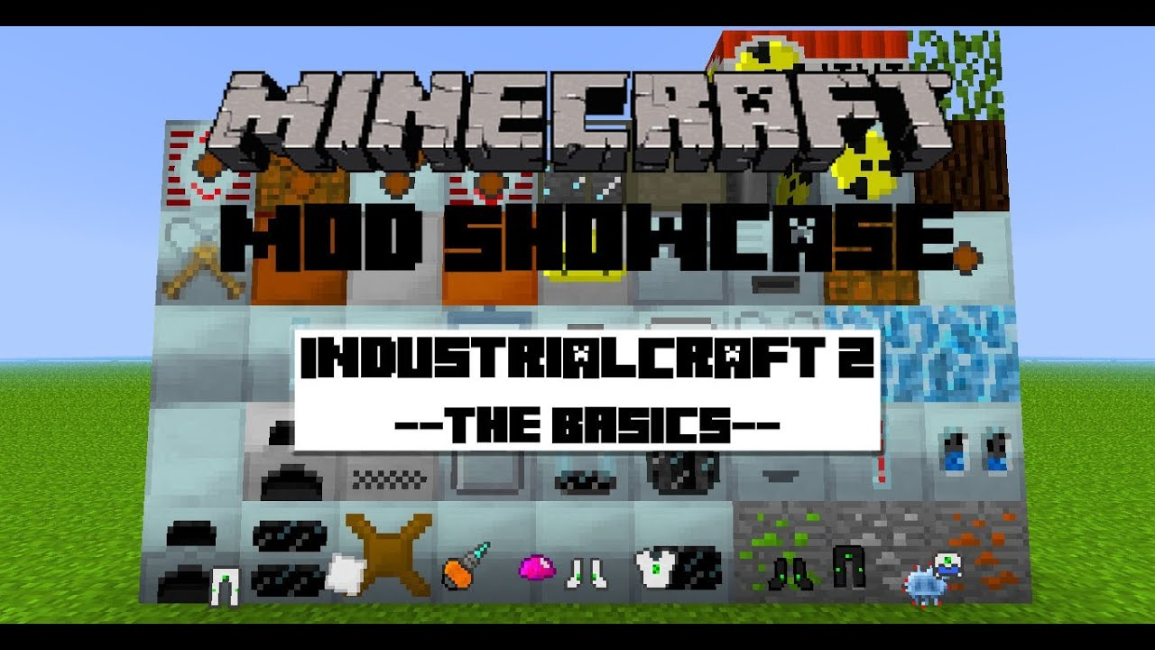 [1.2.5]Minecraft Mod Showcase: Industrial Craft 2 - Pt. 1 ...