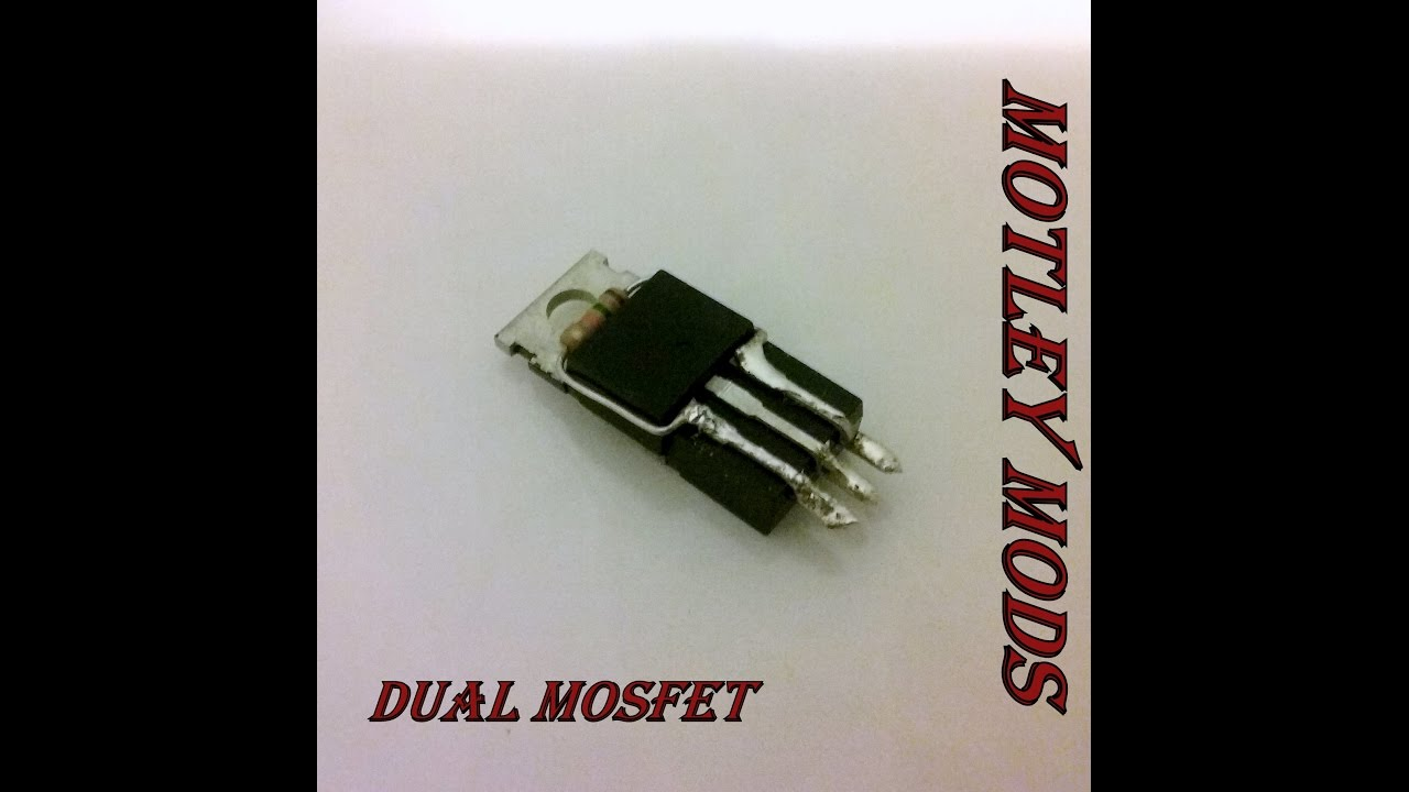 How to Solder Dual Mosfets