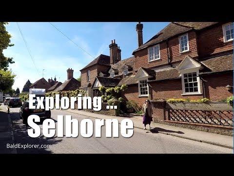 Walks in England: Exploring Selborne  High Street, Hants.