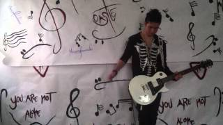 Framing Hanley - You stupid girl - Nikky Caslte ( Guitar cover )