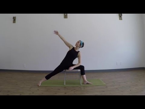 Adaptive Yoga for Multiple Sclerosis: Chair Yoga for the Hips & Legs