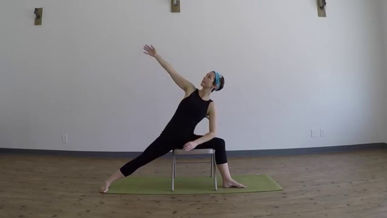 Adaptive Yoga For Multiple Sclerosis Chair Yoga For The Hips Legs Youtube