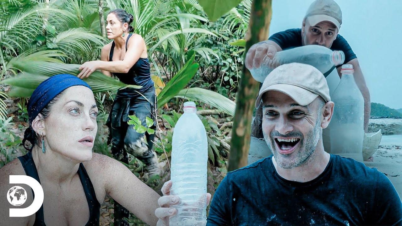 Ed mide fuerzas con una mujer por primera vez | Ed Stafford: Contra Todos | Discovery Latinoamérica