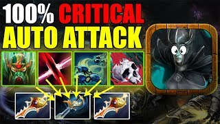 4X AUTO ATTACKS IN A ROW WITH CRITICAL Ability Draft Dota 2