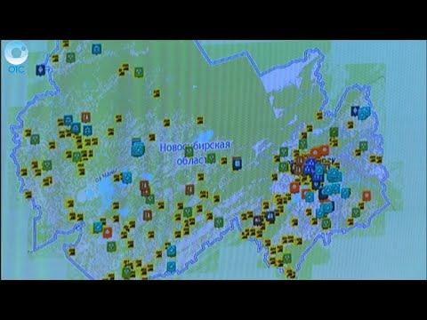 Виртуальные карты для реальных путешествий.  Зачем оцифровали   районы Новосибирской области?