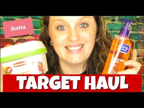 Target Ibotta Haul July 1st-7th 2018