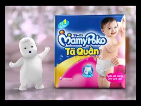 MamyPoko Tã quần TVC