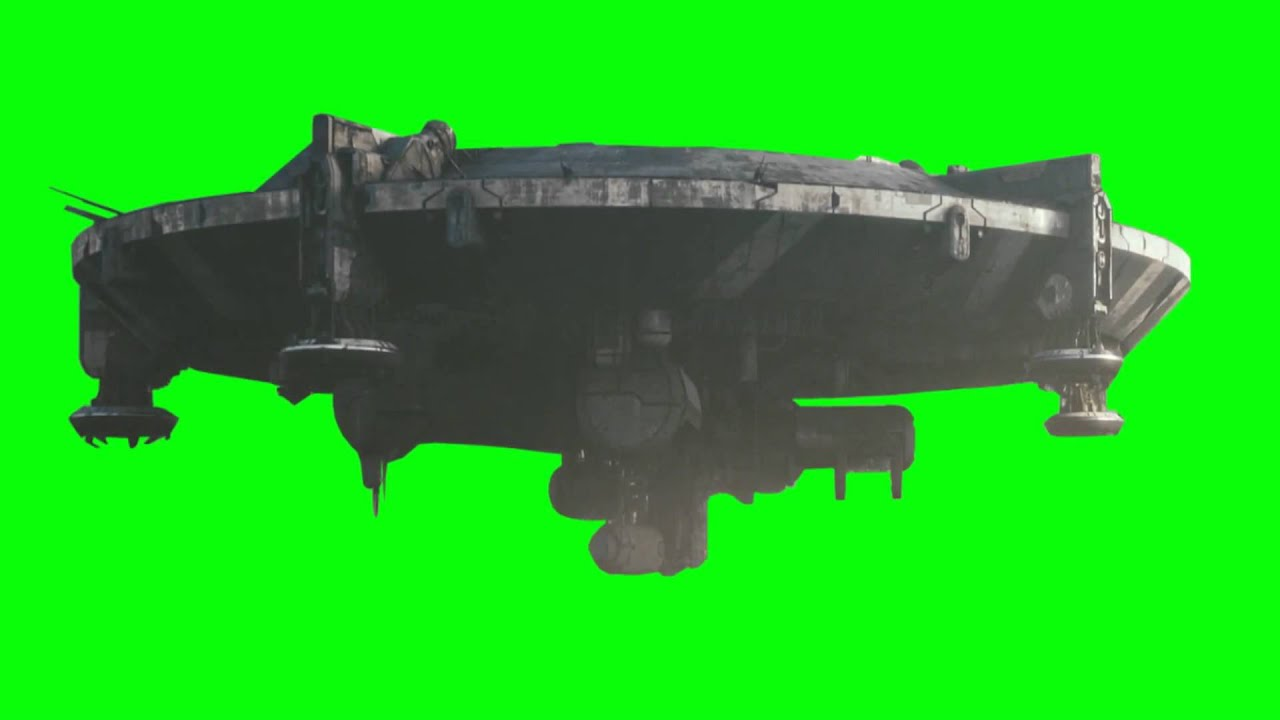 Green Screen District 9 Spaceship 1080p HD)(1080pH.264-AAC