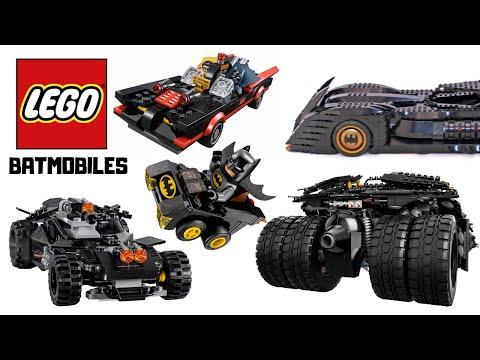 All LEGO Batmobiles Ever Built 2006-2019
