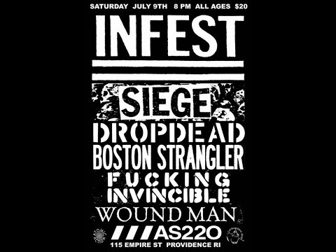 SIEGE (FULL SET) Live @ AS220 - Providence, RI, USA. - July 9th 2016