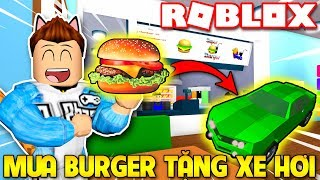 Roblox | KIA BUILDING BURGER SHOP FOR CARS-Burger Factory Tycoon | KiA Pham