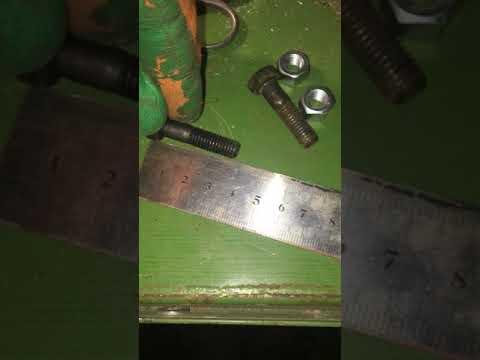 Замена шпилек крепления раздатки на ниве 21214