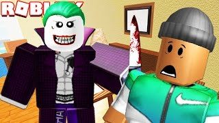 ATTACKED BY THE JOKER IN ROBLOX