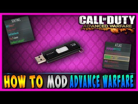 Advanced Warfare MODS- How To Mod Advanced Warfare With A USB [ KNOCKBACK, God Mode, ETC. ]