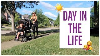 DAY IN THE LIFE OF A STAY AT HOME MOM 2018 ☀️ | HOW TO STAY SANE + PRODUCTIVE AS A SAHM? | Brianna K