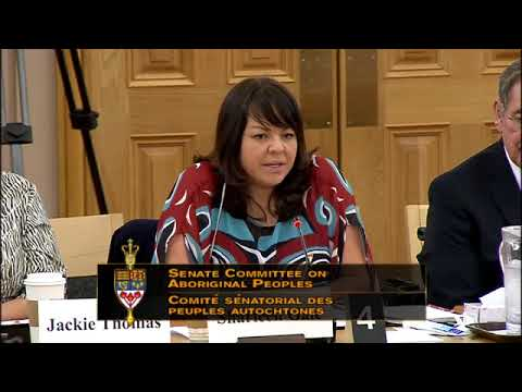 FNMPC - Standing Senate Committee with Aboriginal Peoples (Part 3)