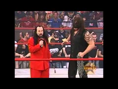 Abyss and James Mitchell In Ring