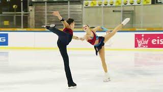 Екатерина Сторублевцева Артем Грицаенко Короткая программа Гран при по фигурному катанию 2021