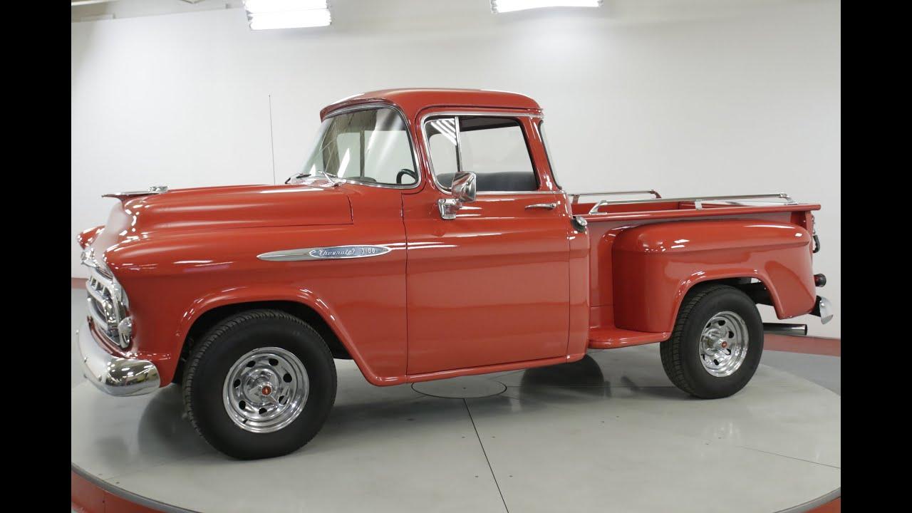 1957 chevrolet pickup truck [ 1280 x 720 Pixel ]