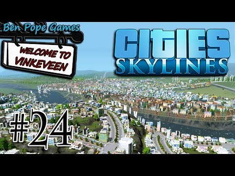Cities: Skylines - (European Themed City) - #24 Make it More Posh