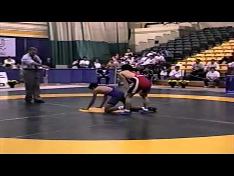 2002 World University Championships: 55 kg GR Bunsei Murakami (JPN) vs. Ernesto Cantero (MEX)