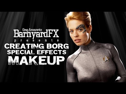 Greg Aronowitz builds 7 of 9 Borg Special FX Makeup