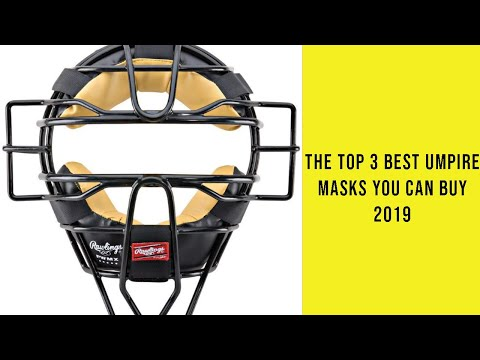 The Top 3 Best Umpire Masks You Can Buy 2019