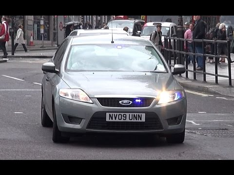 Unmarked Police Car Responding London Youtube