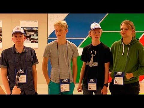 Danish team IOI 2016 in Kazan Russia