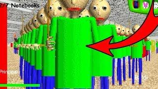 КЛОНИРОВАЛ БАЛДИ!!! - НОВЫЙ МОД BALDI'S BASICS in EDUCATION and LEARNING