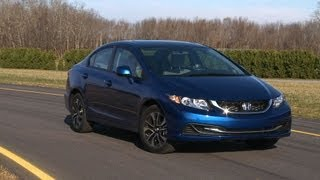 2013 Honda Civic first drive Consumer Reports