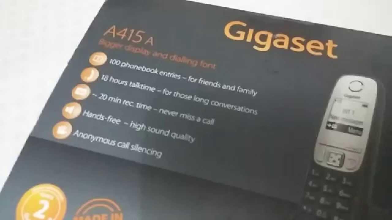 Обзор смартфона Gigaset.