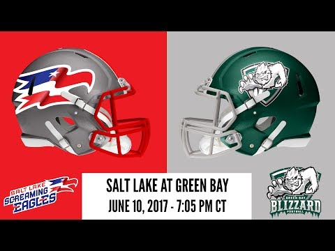 Week 17 | Salt Lake Screaming Eagles at Green Bay Blizzard