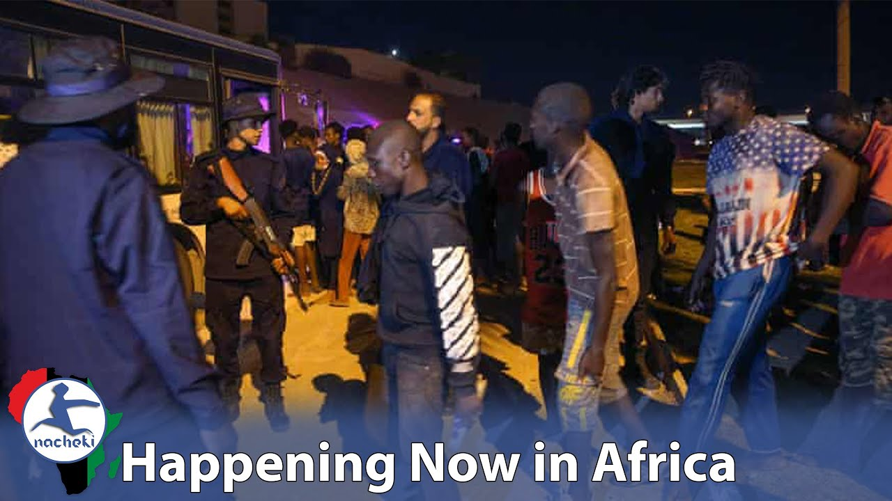 African Migrant Refugees Violently Rounded-up in Libya after Failed Escape Leaving 6 Dead