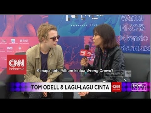 Special Interview with Tom Odell - CNN Indonesia Showbiz