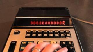 CASIO FX-1 Scientific Calculator - Nixie Tube Display!
