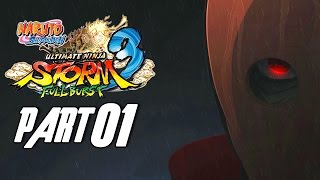 Naruto Shippuden: Ultimate Ninja Storm 3 - Walkthrough Part 1, Gameplay Xbox 360
