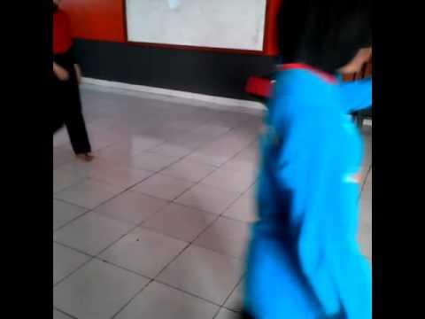 TC Atlet Tapak Suci Bandung # Dwi dan Annisa