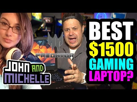 Best $1,500 Gaming Laptop with G-Sync? Acer Predator 17 Geforce GTX 1070  Intel i7 REVIEW