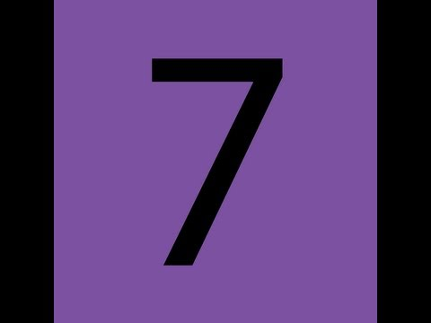 Counting By 7 Song - Beginner