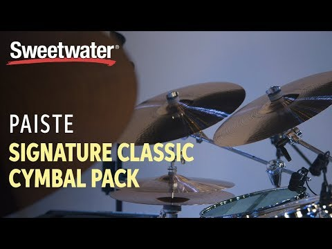 Paiste Signature Classic Cymbal Pack with Free 16