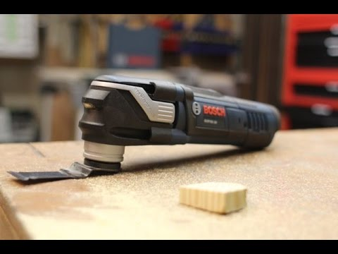 Bosch Starlock MAX Oscillating Multi Tool Review GOP40-30