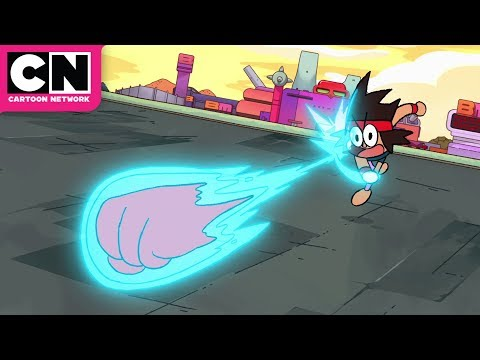 OK K.O. Let's Be Heroes | KO Harnesses TKO's Power | Cartoon Network
