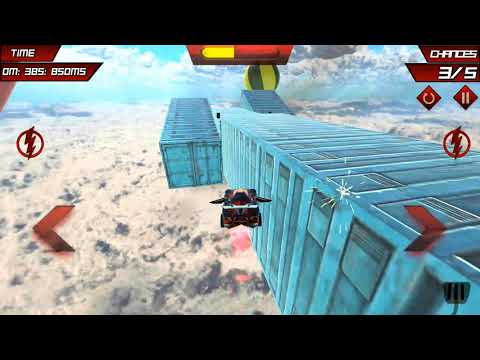 Simulator Car Game - Pro Flying Car Stunts 3D 2020 Driving Crazy Car - Android Ios Gameplay