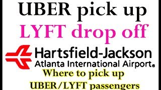 UBER and LYFT Ride share pickup & drop off tutorial