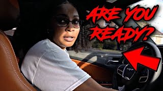 SRT BREE DRIVES MY 2020 widebody HELLCAT