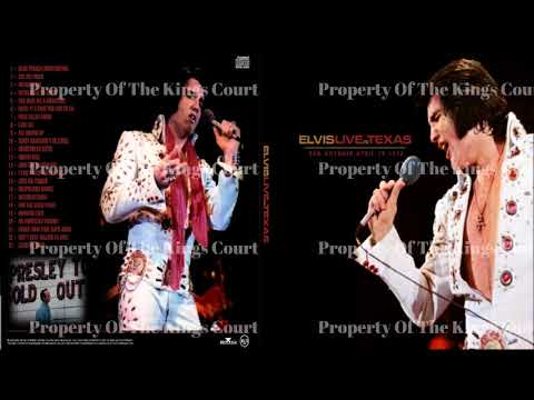 Elvis Presley - Live In San Antonio Texas - April 1972
